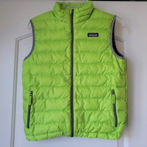 Patagonia Duck Down Sweater Puffer Vest Boys 12